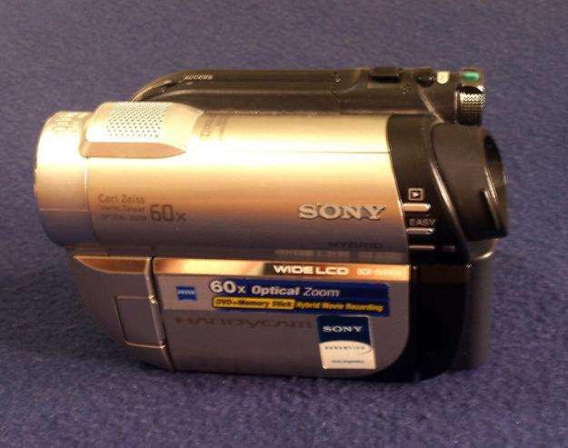 Vendo Filmadora Sony Hybrid 60x Optical Zoom Dvd Memory Stick