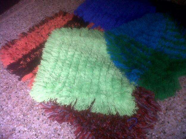 <strong>alfombras</strong> artesanales....