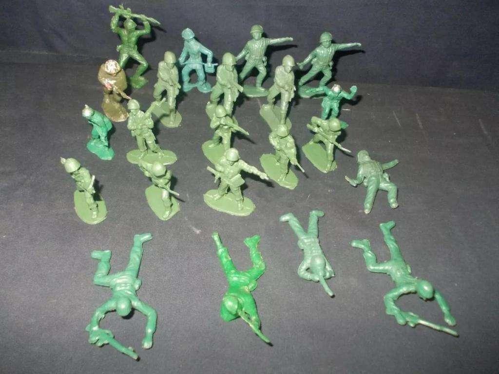 Milchucherias Lote De 22 Soldaditos Surtidos Verdes 184