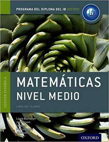 Matematicas Nivel Medio Ib de Oxford
