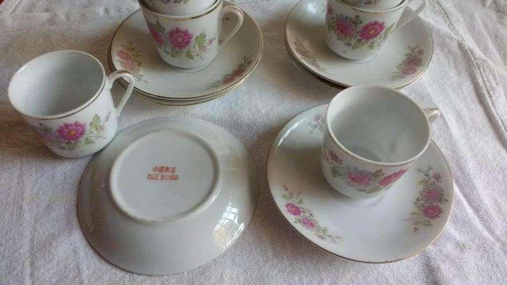 Jueguito de cafe chino