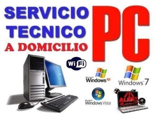 SERVICIO TÉCNICO FORMATEO DE COMPUTADORAS Y LAPTOPS