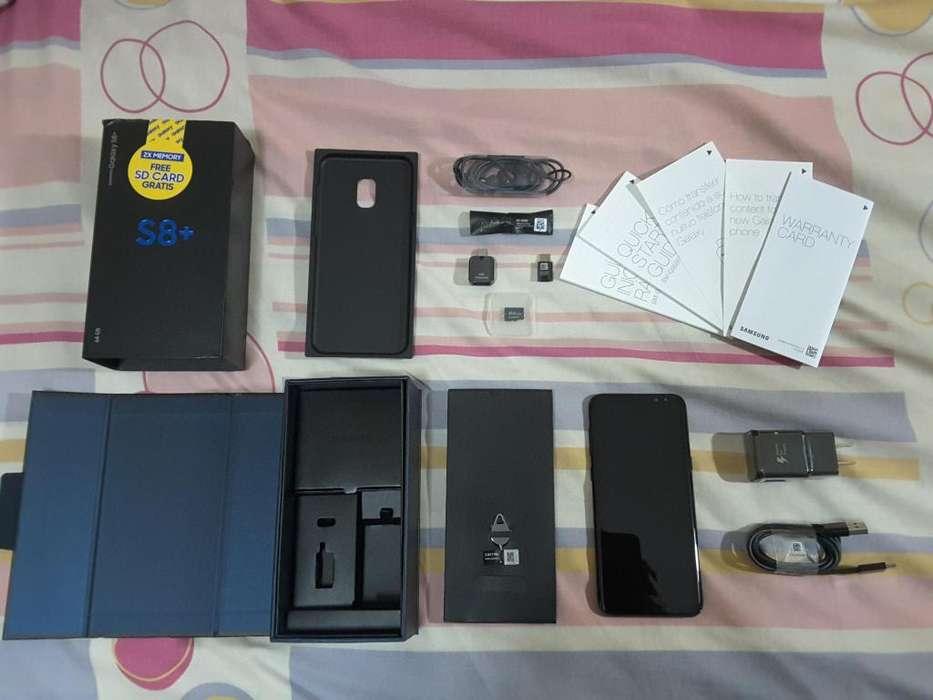 Samsung Galaxy S8 Plus 64GB Caja y Accesorios Boleta con Garantía