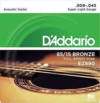 Cuerdas Acustica Metal D'addario Calibre 0942!!