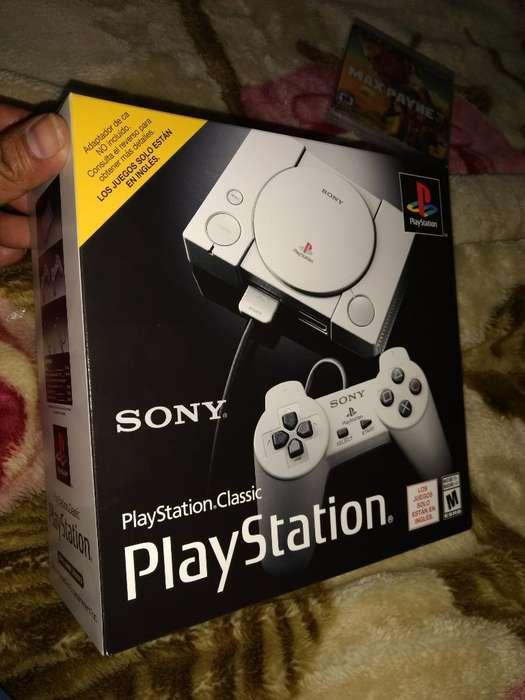 Playstation Clasic Mini Nueva