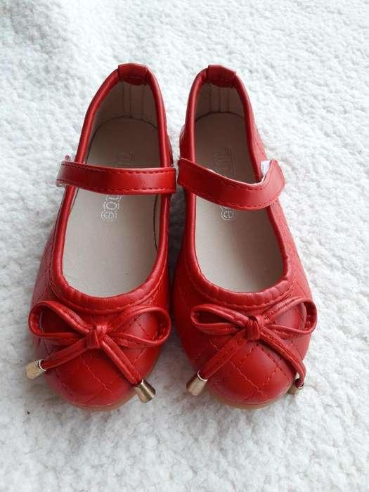 228f0cf5 <strong>zapato</strong>s Rojos Balerinas Niña Nuevos