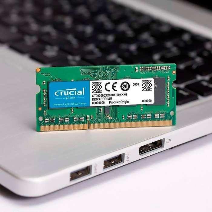 Memoria 4gb Ram Crucial Ddr3 1600 Mhz Sodimm