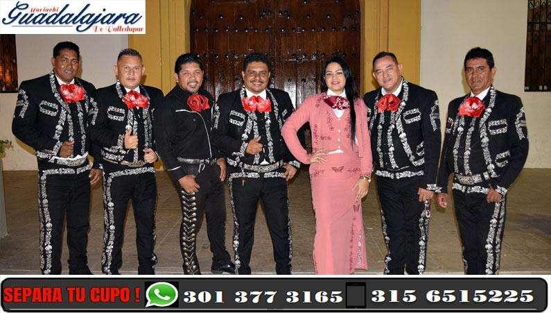 Contacto: 301 377 3165 Mariachi Guadalajara de Valledupar
