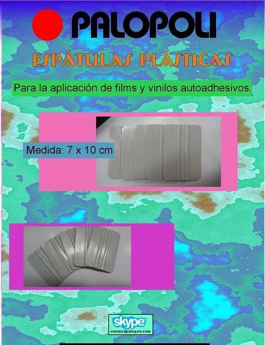 Espatula Plastica 7x10cm Para Aplicacion Vinilo PALOPOLI