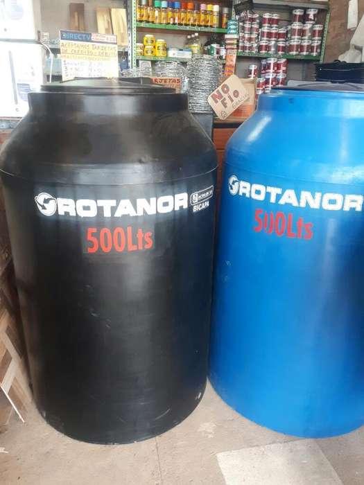 Tanque de Agua Rotanor 500lts Bicapa