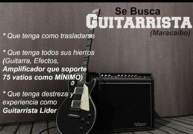 Banda busca guitarrista