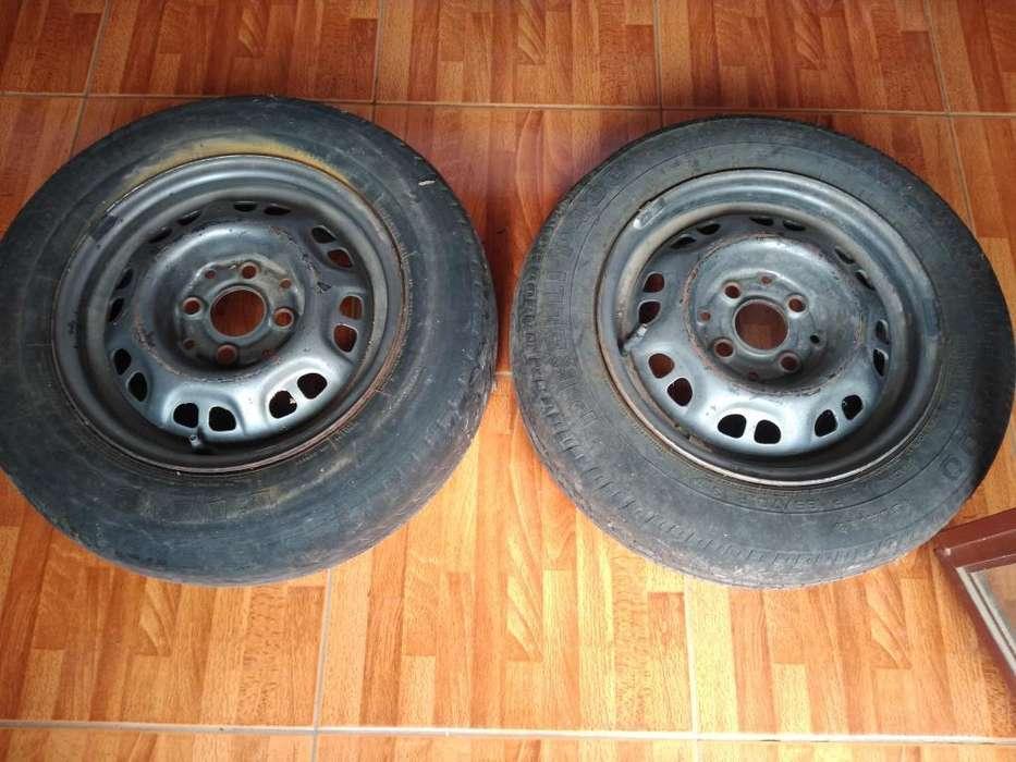 Vendo 2 Ruedas Rod. 13