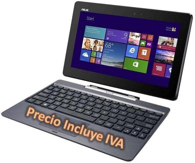 Laptop Portatil Asus T100 Quad Core 2gb 32gb Led 10 I3 i5 i7 PRECIO INCLUYE IVA