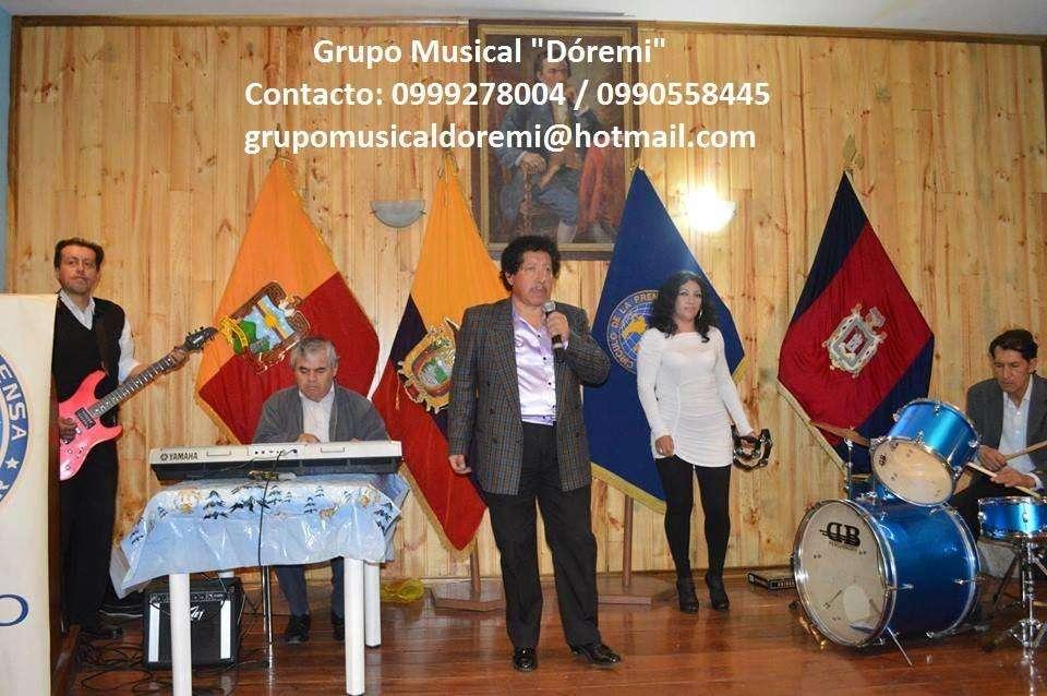 0990558445 / Grupo Musical / Del recuerdo, romántica, bailable, tropical, nacional alegre, moderna.