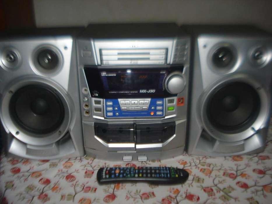 Minicomponente Jvc Mxj30 Excelente Y Potente Sonido!!