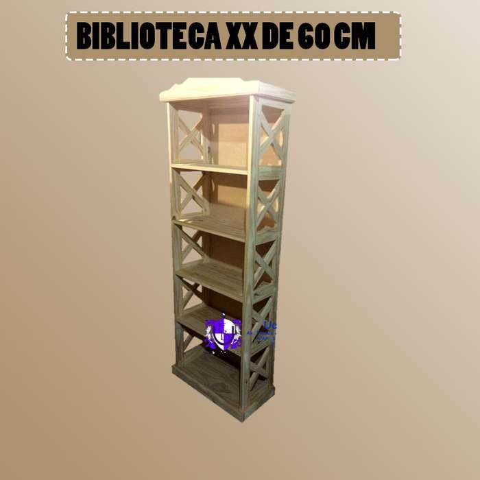 BIBLIOTEC XX DE 60CM