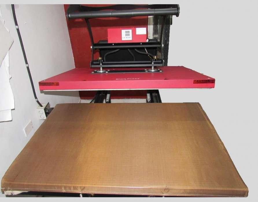 Termofijadora - Plancha Industrial 100x70 Cms Usada en Muy Buen Estado