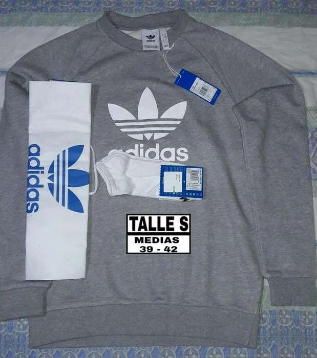 Buzo Adidas Originals Talle S Y <strong>medias</strong>