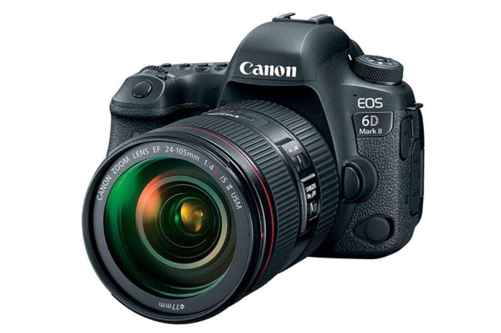 Canon 6d Mark Ii Solo Cuerpo Nueva