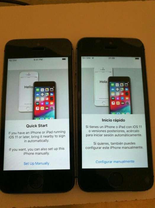 iPhone 5s 34 Y 64 Gb Liberados Impecable