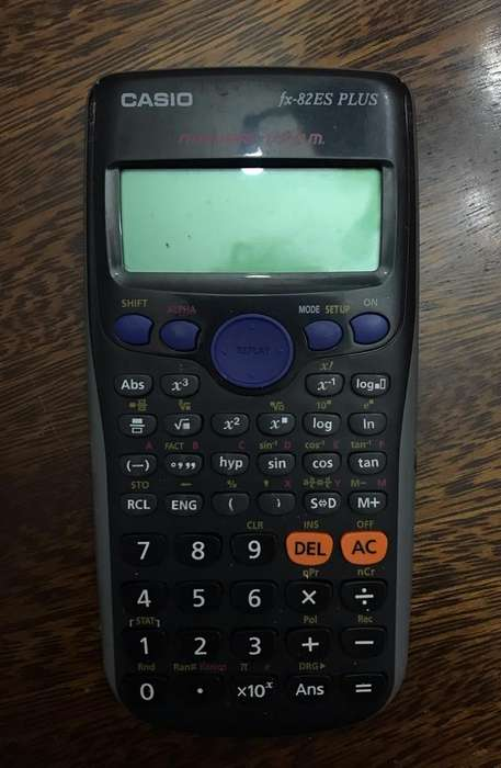 Calculadora Cientifica (Casio)