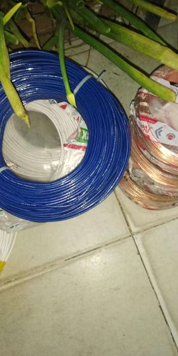 Vendo Cable Y Alambre #12 Polo Tierra