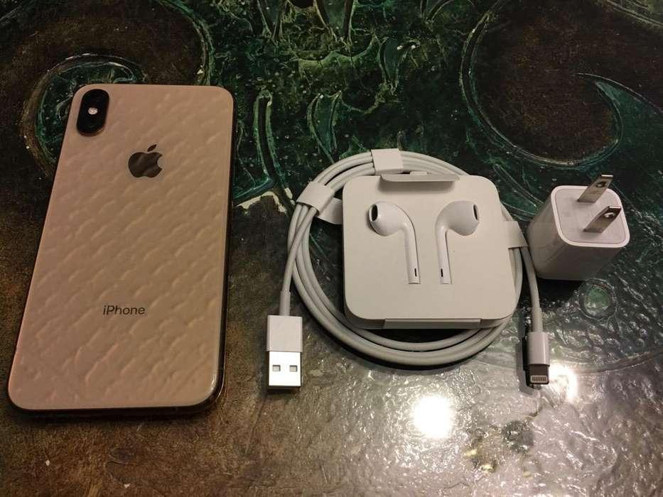 iPhone Xs 64Gb Gold Usado Garantia 06/20