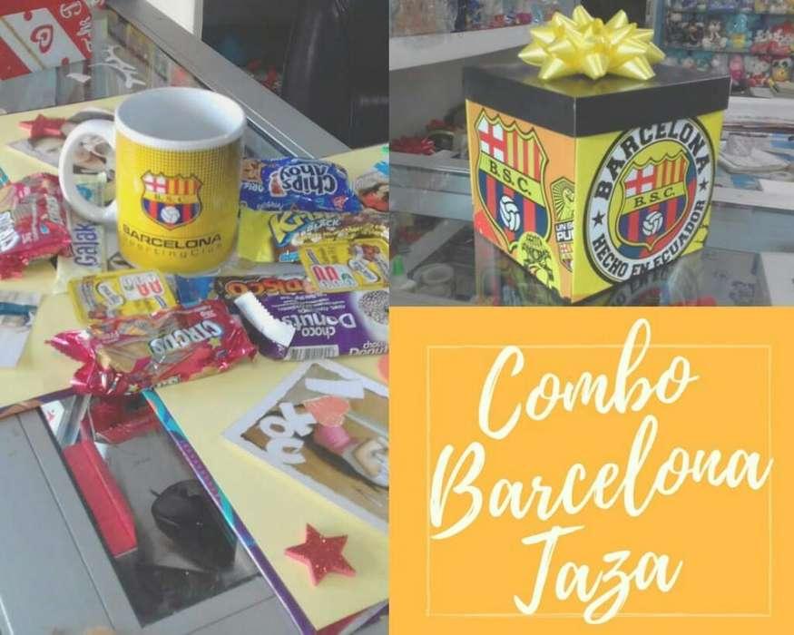 Combo Barcelona Taza