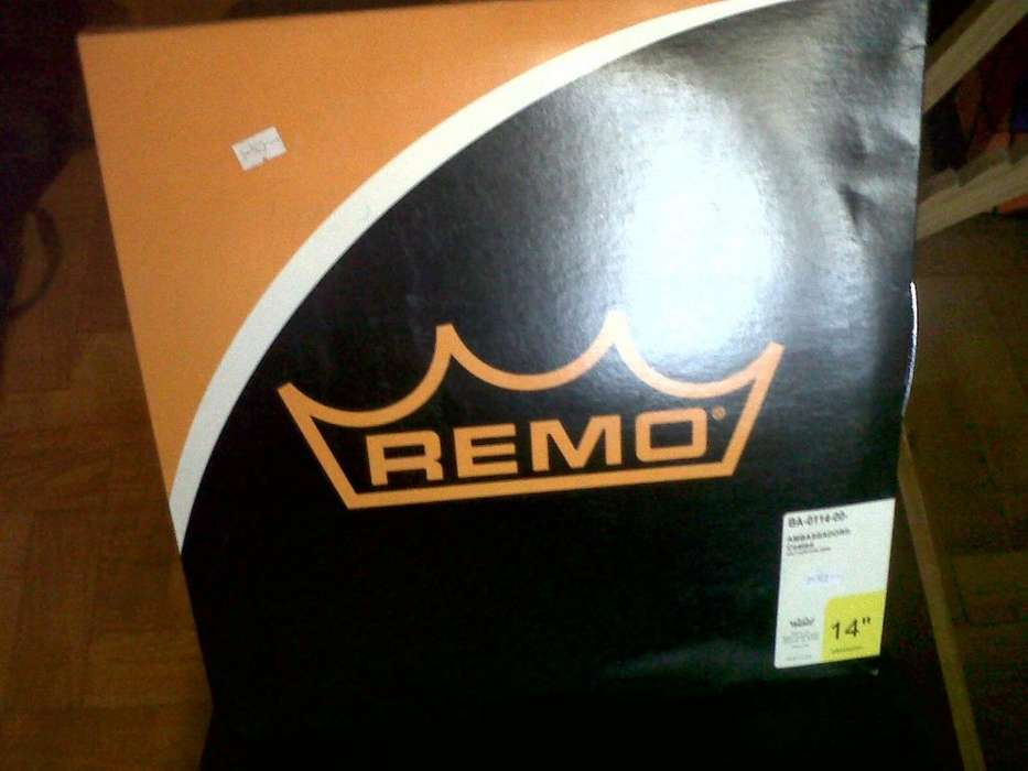 Parche REMO Ambassador Coated