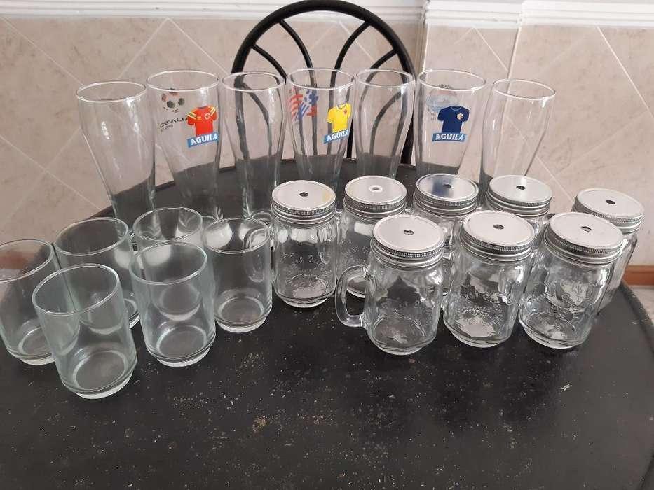 Vasos de Vidrio para Negocio