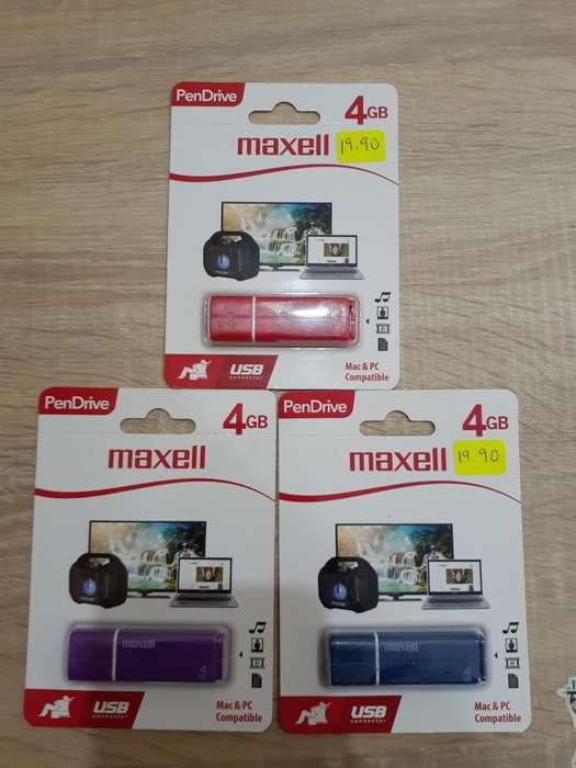 USB MAXELL 4GB