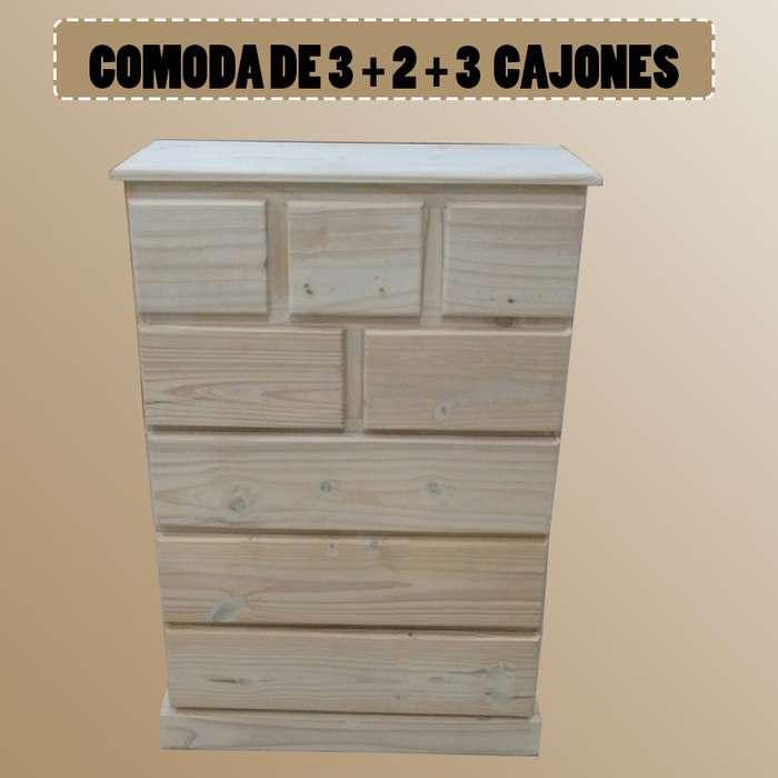 COMODA DE 3 2 3