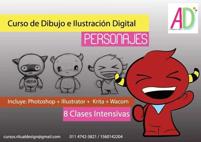 CURSO DE DIBUJO E ILUSTRACIÓN DIGITAL. PERSONAJES