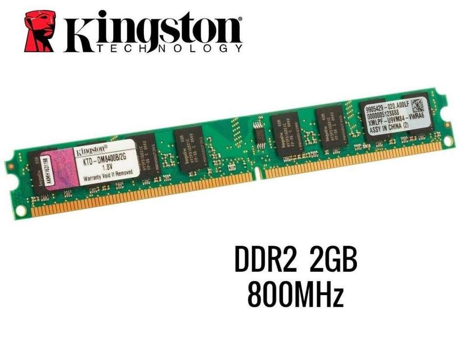 <strong>memoria</strong> ram de 2gb ddr2 800mhz pc