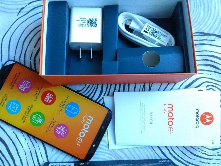 Celular Moto E5 Play Nuevo