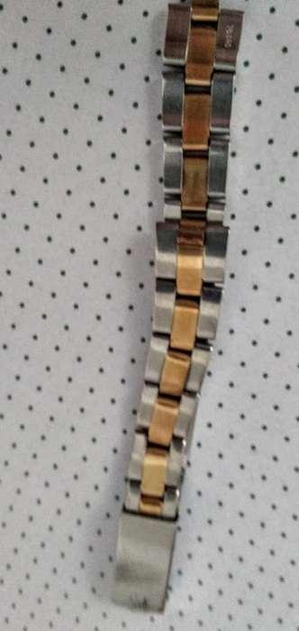 Malla Rolex Dama Combinada
