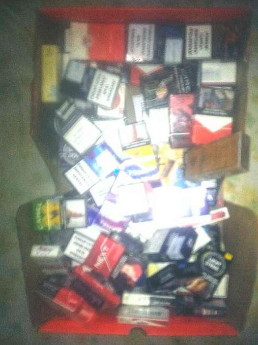 Colección de Marquillas de Cigarrillos