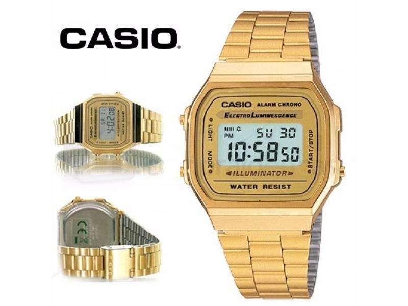Reloj Casio Vintage Dorado Original