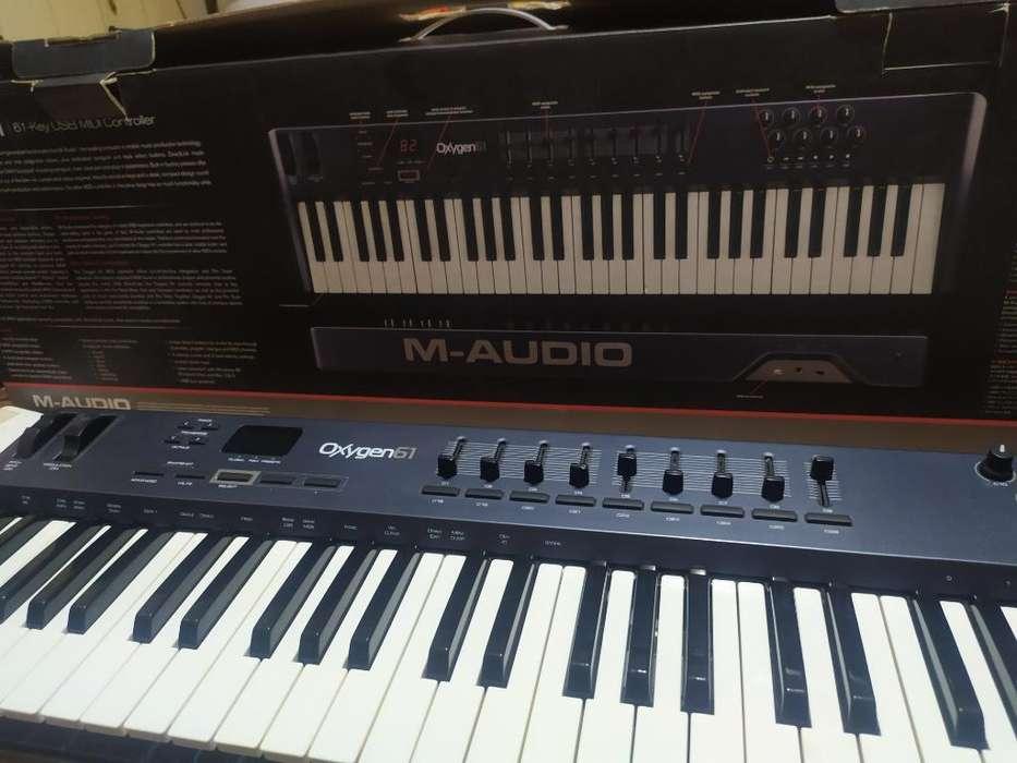 Controlador M Audio Oxigen 61