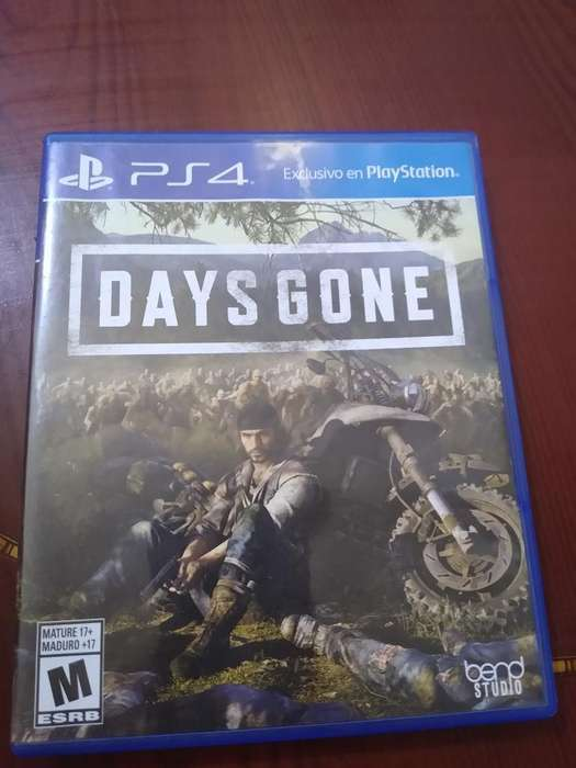 Days Gone para Ps4 Como Nuevo