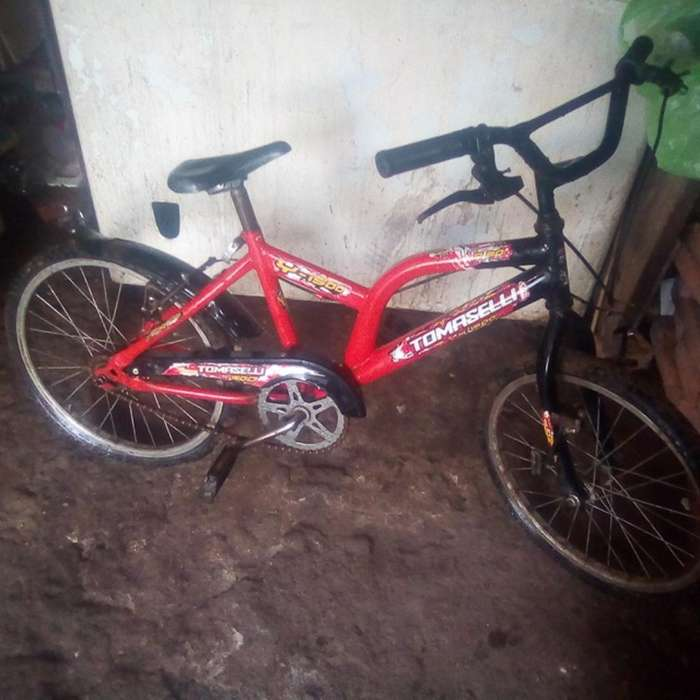 Se Vende Bici Rodado 20 Tomaselli Cm Est