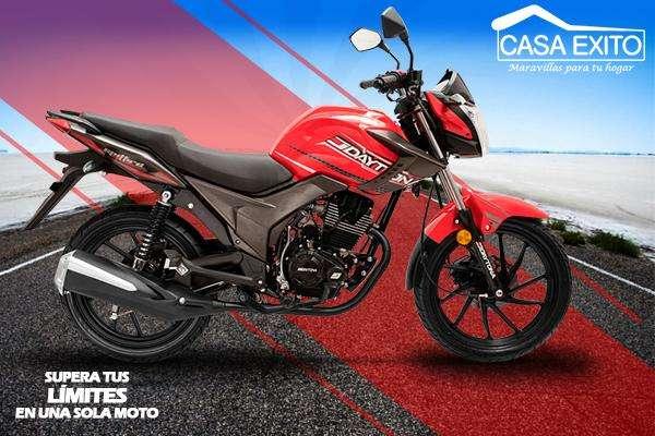 Moto Daytona Dy150 Spitfire 150cc Año 2018 Color Negro / Rojo Casa Éxito