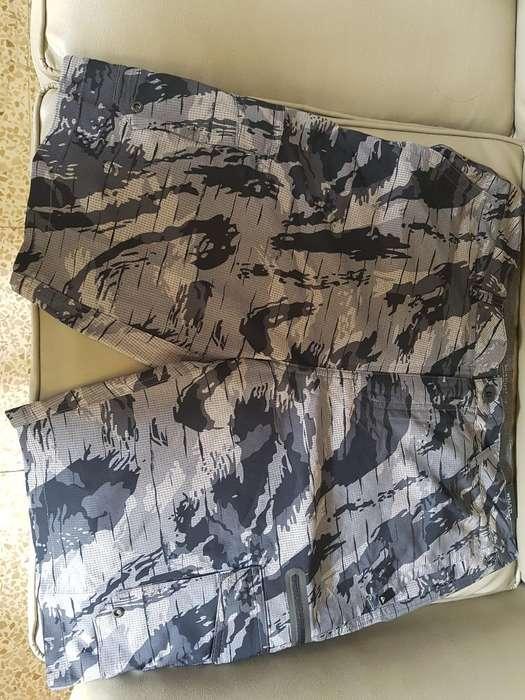 Pantaloneta Quiksilver Americana Talla34