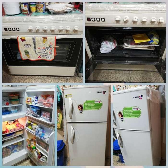 Refrigeradora Durex Y <strong>cocina</strong> Ecasa