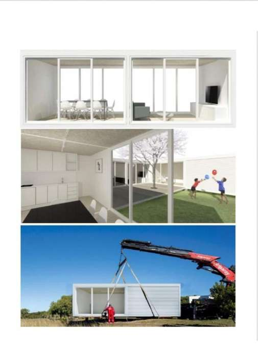 Módulos habitacionales para inversión