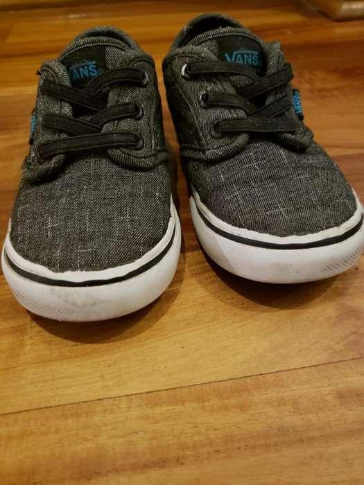 Zapatillas Vans Talla 6 Usa (16cm)