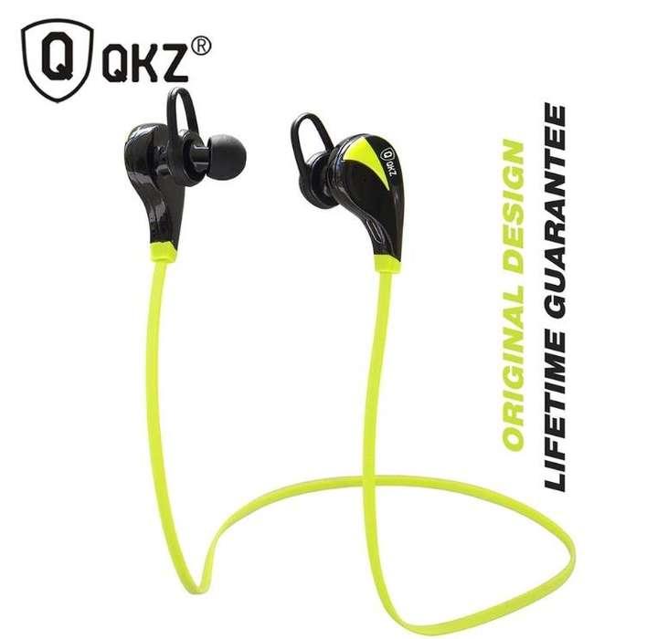 Auricular <strong>bluetooth</strong> QKZ G6 Manos libres, Música, Micrófono para Iphone, Samsung, Sony, Xiaomi, Tablets, PC, etc