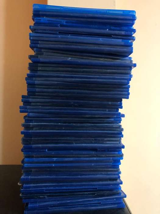 50 Cajas Bluray
