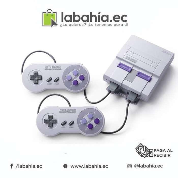 Consola Super Nintendo Clásico