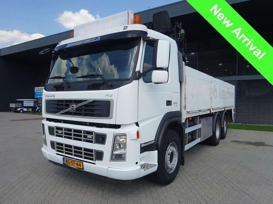 Volvo FM9 300 Hiab 130 roller kraan - To be Imported